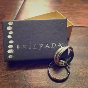 """Silpada """"Showtime"""" Sterling Silver Ring"""